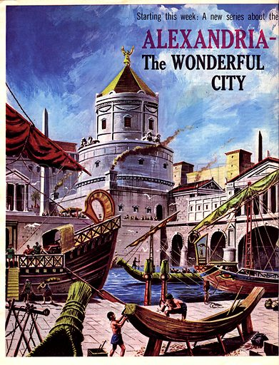 Cities of the Past: Alexandria -- The Wonderful City.
