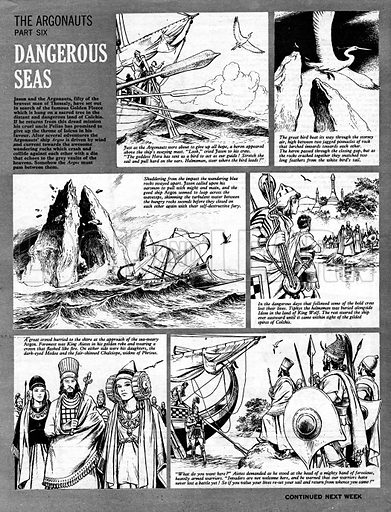 The Argonauts: Dangerous Seas.