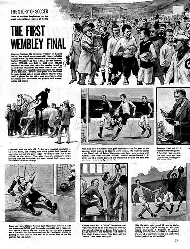 The Story of Soccer: The First Wembley Final.