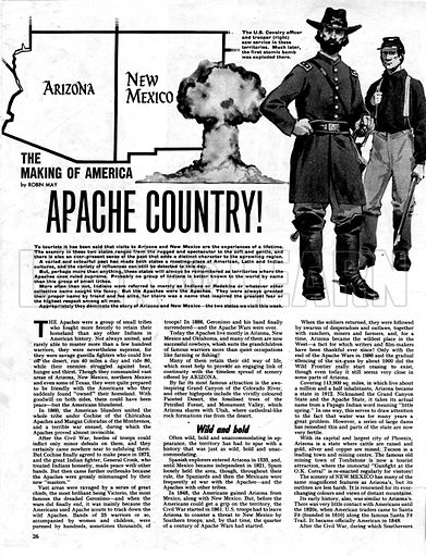 The Making of America: Apache Country!.
