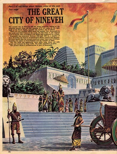 Cities of the Past: The Great City of Nineveh.