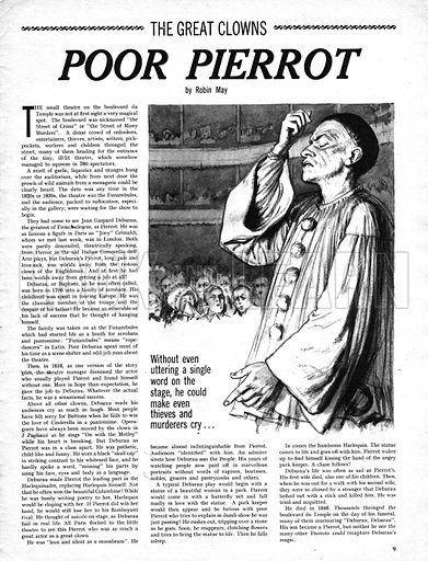 The Great Clowns: Poor Pierrot.