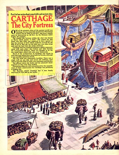 Cities of the Past: Carthage: The City Fortress.