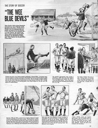 "The Story of Soccer: ""The Wee Blue Devils""."