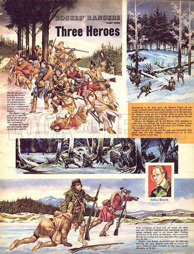 Rogers' Rangers: Three Heroes.