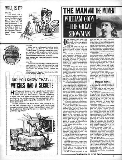 The Man and the Moment: William Cody -- The Great Showman.