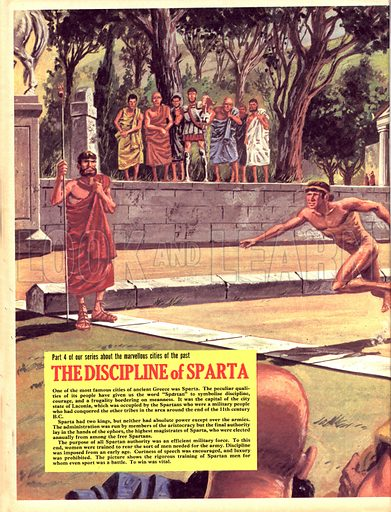 Cities of the Past: The Discipline of Sparta.