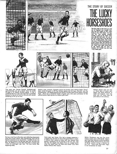 The Story of Soccer: The Lucky Horseshoes.