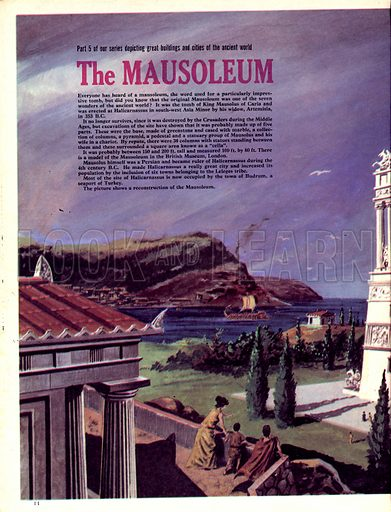Cities of the Past: The Mausoleum.