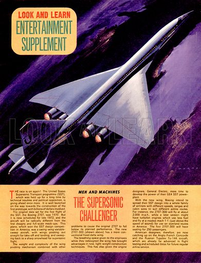 Men and Machines: The Supersonic Challenger.