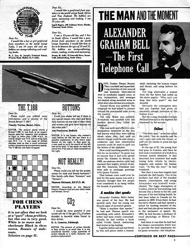 The Man and the Moment: Alexander Graham Bell – The First Telephone Call.