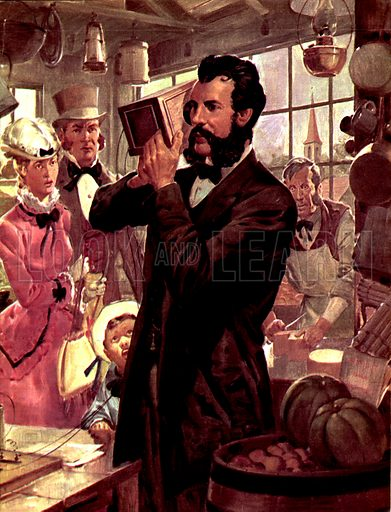 The Man and the Moment: Alexander Graham Bell -- The First Telephone Call.