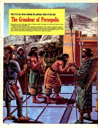 Cities of the Past: The Grandeur of Persepolis.
