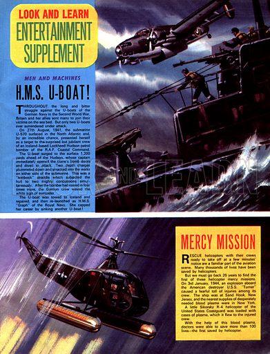 Men and Machines: H.M.S. U-Boat, plus Mercy Mission.