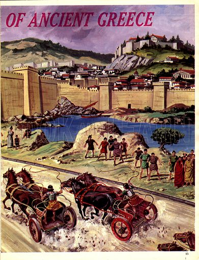 Great Cities of the Past: The Glory of Ancient Greece.