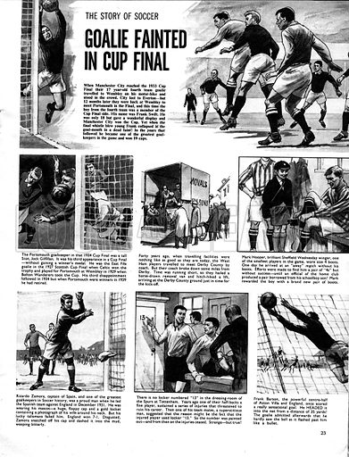 The Story of Soccer: Goalie Fainted in Cup Final.