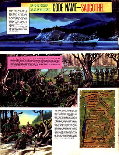 Rogers' Rangers: Code Name -- Saugothel.