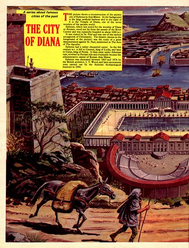 Famous Cities of the Past: The City of Diana.