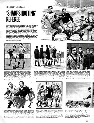 The Story of Soccer: 'Sharpshooting' Referee.
