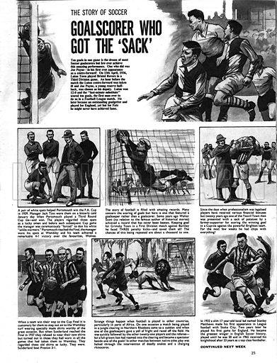 The Story of Soccer: Goalscorer Who Got the 'Sack'.