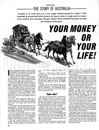 The Story of Australia: Your Money or Your Life!.