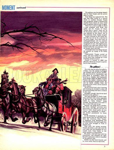 The Man and the Moment: Dick Turpin – His Last Ride.