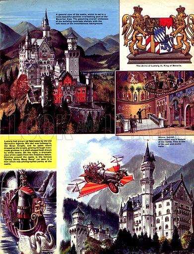 Historic Castles of the World: Neuschwanstein -- A Fairy-Tale Castle Built by a 'Madman'.