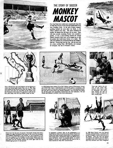 The Story of Soccer: Monkey Mascot.