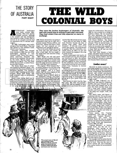 The Story of Australia: The Wild Colonial Boys.