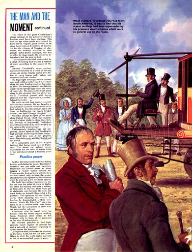 The Man and the Moment: Trevethick and his Puffing Billy.