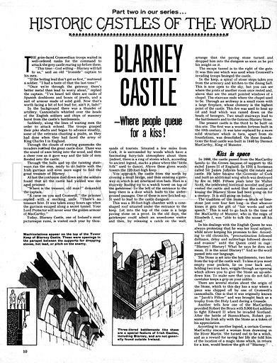 Historic Castles of the World: Blarney Castle.