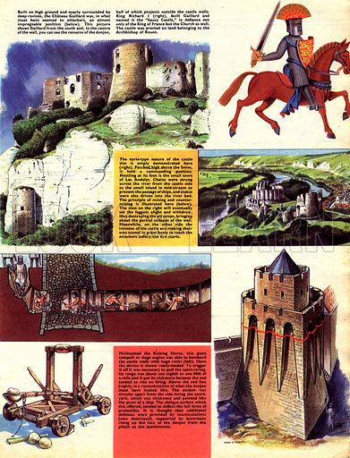 Historic Castles of the World: The Castle of Shame. Chateau Gaillard.