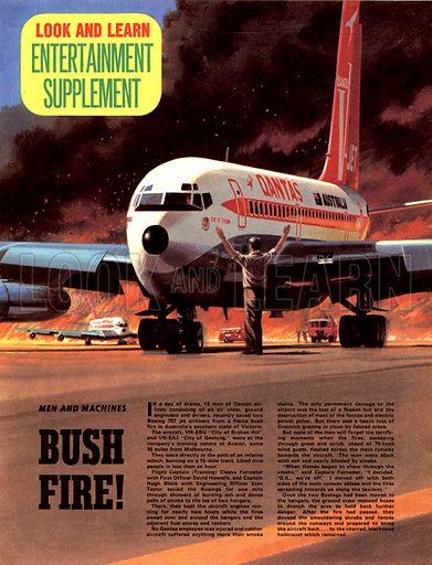 Men and Machines: Bush Fire!.