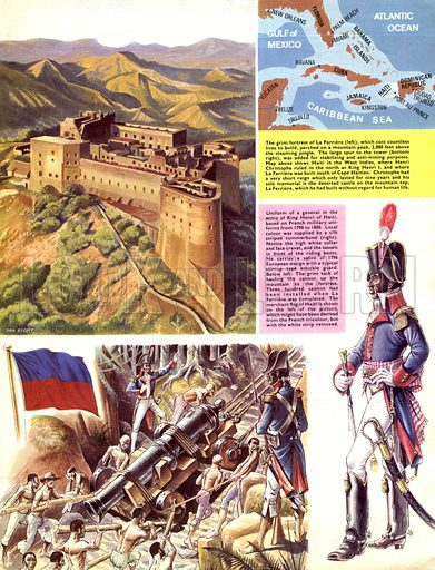 Historic Castles of the World: La Ferriere. Stronghold of a bloodthirsty tyrant -- King Henri I of Haiti.