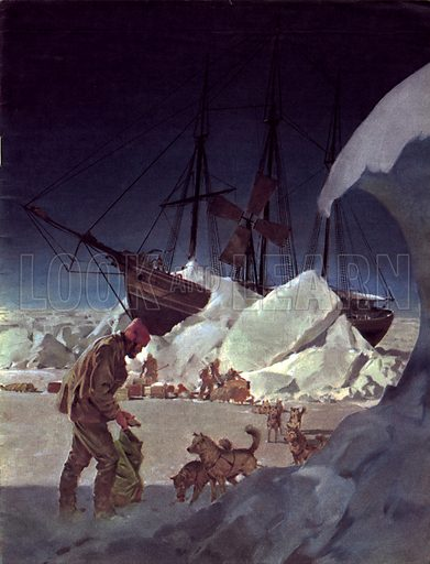 The Man and the Moment: Nansen -- Conqueror of the Arctic Ice.