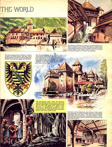 Historic Castles of the World: Chateau De Chillon, the Beautiful Prison.