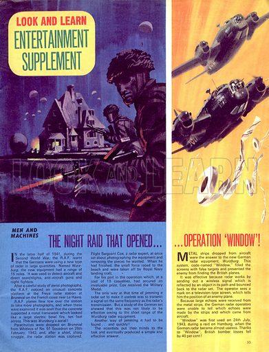 "Men and Machines: The Night Raid that Opened Operation ""Window""."