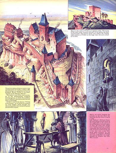 Historic Castles of the World: Trifels, the Lionheart's Prison.