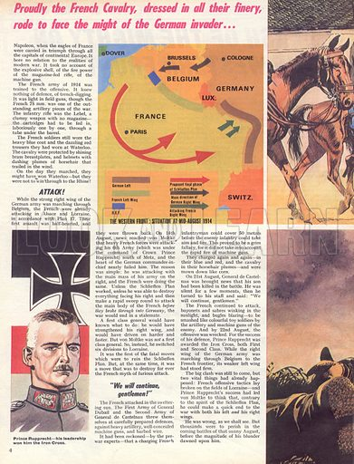 The Story of World War One: Clash of the Mighty on the Western Front!.