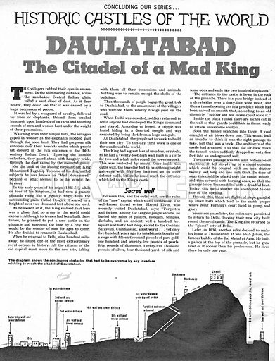 Historic Castles of the World: Daulatabad, the Citadel of a Mad King.