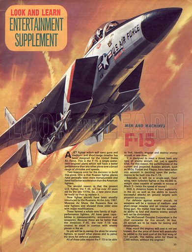 Men and Machines: F-15.