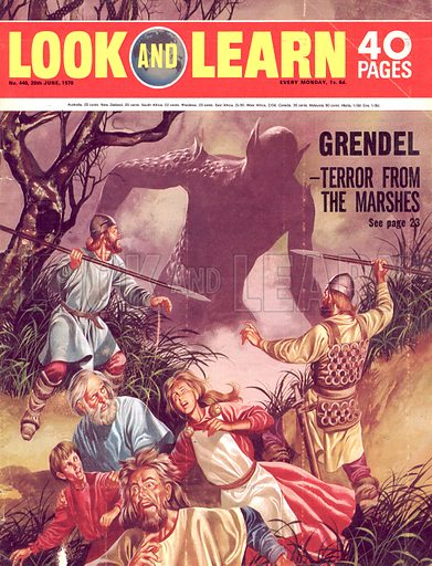 The Legend of Beowulf: Grendel -- Terror from the Marshes.