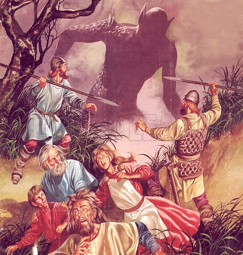 The Legend of Beowulf: Grendel – Terror from the Marshes.