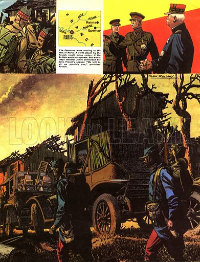 The Story of World War One: Into Battle By Taxi!.