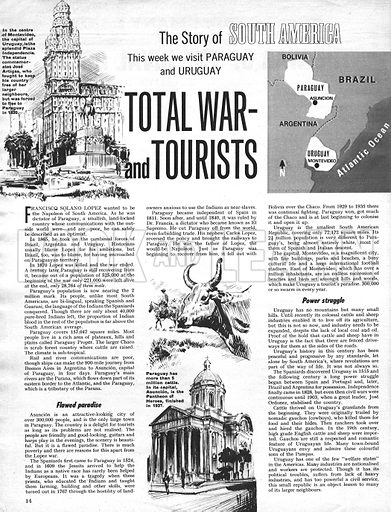 The Story of South America: Total War -- and Tourists.