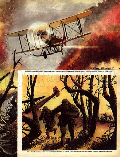 The Story of World War One: Enemy Aircraft Overhead!.