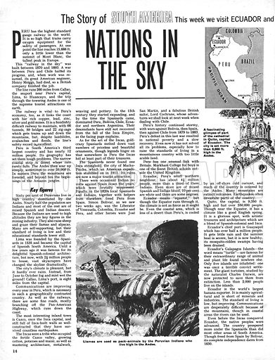 The Story of South America: Nations in the Sky.