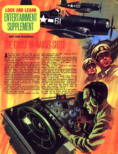 Men and Machines: The Ghost of Nansei-Shoto.