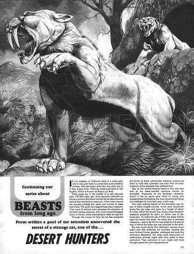 Beasts from Long Ago: Desert Hunters.