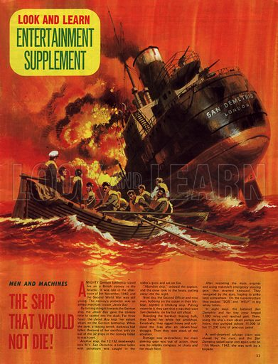 Men and Machines: The Ship That Would Not Die!.